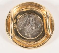 Ancient Coin and Gold Slide - 1612885