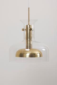 Anders Pehrson One of Six Crystal Pendant Lamp by Anders Pehrson for Atelje Lyktan - 1833272