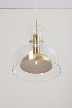 Anders Pehrson One of Six Crystal Pendant Lamp by Anders Pehrson for Atelje Lyktan - 1833273