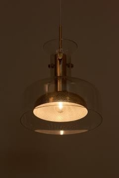 Anders Pehrson One of Six Crystal Pendant Lamp by Anders Pehrson for Atelje Lyktan - 1833275