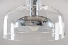 Anders Pehrson Scandinavian Pendant in Glass and Chrome by Anders Pehrson for Atelj Lyktan - 881158