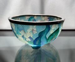 Ando Jubei A Japanese Plique a jour bowl by Ando Jubei Company - 1041032
