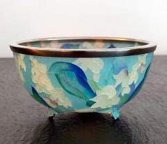 Ando Jubei A Japanese Plique a jour bowl by Ando Jubei Company - 1041034