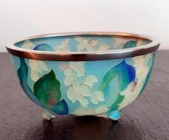 Ando Jubei A Japanese Plique a jour bowl by Ando Jubei Company - 1041035