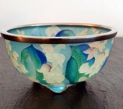 Ando Jubei A Japanese Plique a jour bowl by Ando Jubei Company - 1041036