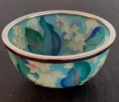 Ando Jubei A Japanese Plique a jour bowl by Ando Jubei Company - 1041037