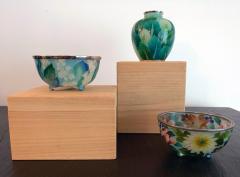 Ando Jubei A Japanese Plique a jour bowl by Ando Jubei Company - 1041040
