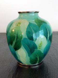 Ando Jubei A Japanese Plique a jour vase by Ando Jubei Company - 1041044
