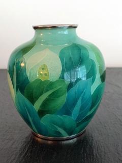 Ando Jubei A Japanese Plique a jour vase by Ando Jubei Company - 1041045