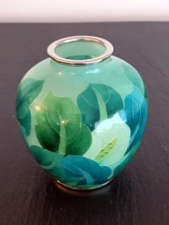 Ando Jubei A Japanese Plique a jour vase by Ando Jubei Company - 1041056