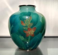 Ando Jubei A Japanese Plique a jour vase by Ando Jubei Company - 1041058
