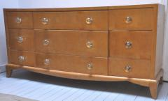 Andr Arbus Andre Arbus refined sycamore chest of drawer - 1689592