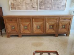 Andr Arbus Cerused Oak and Gilt Cabinet - 536246
