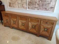 Andr Arbus Cerused Oak and Gilt Cabinet - 536250