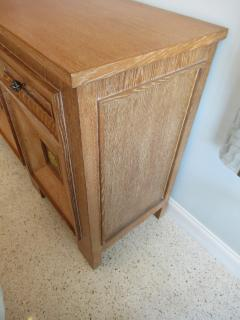 Andr Arbus Cerused Oak and Gilt Cabinet - 536256