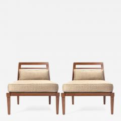 Andr Arbus French Mid Century Chairs in the style of Andre Arbus - 802290