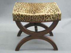 Andr Arbus French Modern Neoclassical Bench or Stool in the Manner of Andre Arbus - 1876882