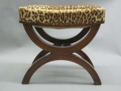 Andr Arbus French Modern Neoclassical Bench or Stool in the Manner of Andre Arbus - 1876883