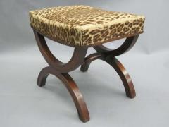 Andr Arbus French Modern Neoclassical Bench or Stool in the Manner of Andre Arbus - 1876884