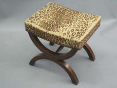 Andr Arbus French Modern Neoclassical Bench or Stool in the Manner of Andre Arbus - 1876886