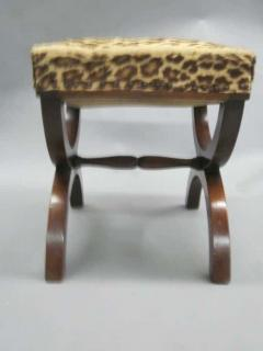 Andr Arbus French Modern Neoclassical Bench or Stool in the Manner of Andre Arbus - 1876895