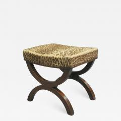 Andr Arbus French Modern Neoclassical Bench or Stool in the Manner of Andre Arbus - 1879926