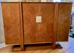 Andr Arbus Maple 4 Door French Cabinet in the Manner of Andre Arbus - 1381170