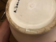 Andr Baud Ceramic Jug Vallauris France 1960s - 1941930