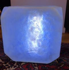 Andr Cazenave Internally Lit Pop Art Ice Cube Occasional Table - 1533827