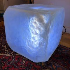 Andr Cazenave Internally Lit Pop Art Ice Cube Occasional Table - 1533828