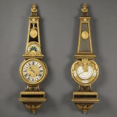 Andr Charles Boulle A Louis XIV Style Clock and Barometer Set - 943645