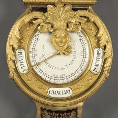 Andr Charles Boulle A Louis XIV Style Clock and Barometer Set - 943649