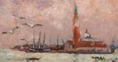Andr Hambourg Pluie a Venice - 85444