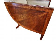 Andr Sornay French Art Deco Mahogany Walnut and Rosewood Bergere - 697999