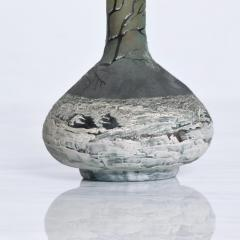Andre Delatte Art Nouveau Pair Cameo Glass Nancy Vases Andre Delatte Daum - 1184022