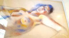 Andre Lhote Andr Lhote Original Signed Pastel Lying Woman Circa 1920 - 1076242