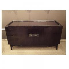 Andre Sornay A Two Door Art Deco Sideboard in Palisander and Bronze - 255480