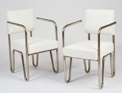Andre Sornay Early Pair of Tubular Chairs by Sornay ca 1929 - 330458