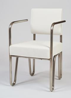 Andre Sornay Early Pair of Tubular Chairs by Sornay ca 1929 - 330460