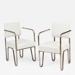 Andre Sornay Early Pair of Tubular Chairs by Sornay ca 1929 - 331197