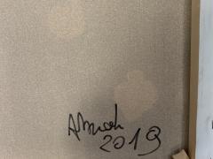 Andrea Brandi Andrea Brandi White Abstract Materic Painting Italy 2019 - 1938702