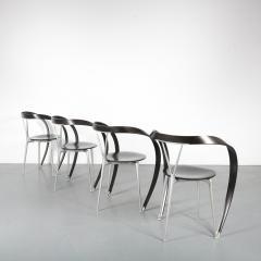 Andrea Branzi Set of 4 Andrea Branzi Revers Chairs for Cassina Italy 1990 - 1194841