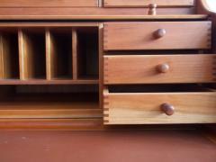 Andreas Hansen Solid American Cherrywood Writing Desk by Andreas Hansen - 1170626