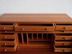 Andreas Hansen Solid American Cherrywood Writing Desk by Andreas Hansen - 1170631