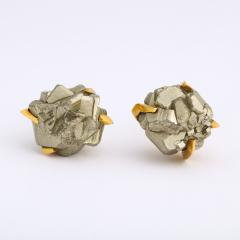 Andrew Grima Gold and Hematite Cufflinks by Andrew Grima - 1170102