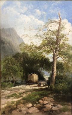 Andrew W Melrose Haying Along the Hudson - 1906355