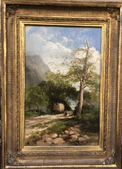 Andrew W Melrose Haying Along the Hudson - 1906356