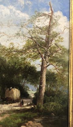 Andrew W Melrose Haying Along the Hudson - 1906359