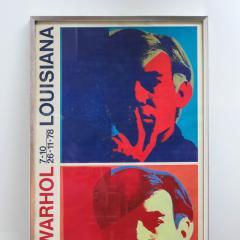 Andy Warhol Andy Warhol Louisiana Exhibition Poster 1978 - 682319