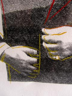 Andy Warhol Andy Warhol Screenprint on HMP Paper John Gotti Unique Print 1 1 1986 - 1286711